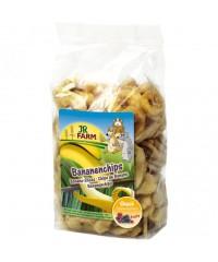 JR FARM  Лакомство для грызунов кусочки Банана 150г