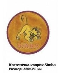 Триол Disney Когтеточка-коврик Simba 55*35см