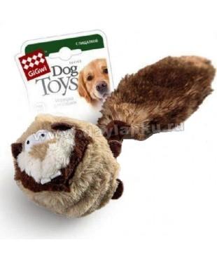 ГиГви Игрушка для собак.Барсук с двумя пищалками