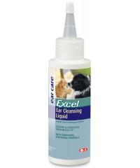 8 в 1 Excel Ear Cleansing Гигиенический лосьон для ушей собак и кошек 118мл