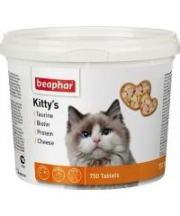 Beaphar Kitty's Mix Витаминная смесь для кошек 750таб