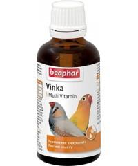 Beaphar Vinka Витамины для укрепления иммунитета у птиц 50мл
