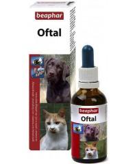 Beaphar Oftal Лосьон для ухода за глазами у кошек и собак 50 мл.