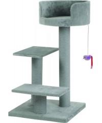 """Beeztees Комплекс """"Figo"""" с 3-мя площадками и мышкой серый 50*50*92см"""