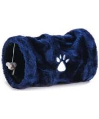 Туннель для кошек маленький плюшевый  17*30см