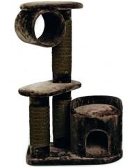 Beeztees Комплекс для кошек Могущественный Кот, коричневый 75*45*118см