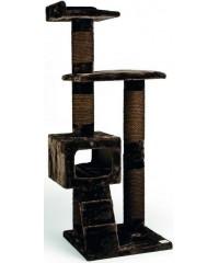 Beeztees Комплекс для кошек Могущественный Кот, коричневый 60*55*166см