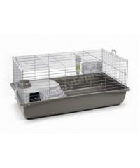 I.P.T.S. Deluxe Клетка для кролика серебристо-серая 100*50*47см