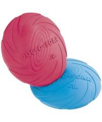 """Beeztees. Игрушка для собак """"Тарелка Dog-o-soar"""" разноцветная, резина 22 см."""