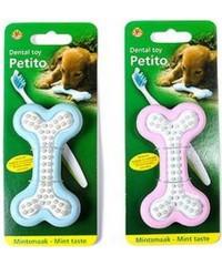 """I.P.T.S. Игрушка для собак """"Косточка Petito"""" д/ухода за зубами, резина 10*5,5см"""