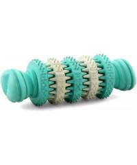 """Beeztees. Игрушка для собак """"Гантель Rolito"""" для ухода за зубами, резина 11 * 4 см."""