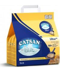 Catsan Ultra Plus наполнитель комкующийся 5л