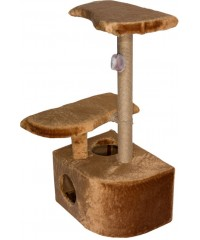 Дарэлл Домик-когтеточка 3-х уровневый угловой 36*49*96 см.