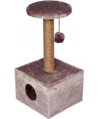 Дарэлл Домик-когтеточка квадратный малый 37*35*73см