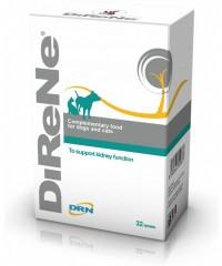 DiReNe добавка для собак и кошек для поддержки фукнкций почек (32 таблетки)