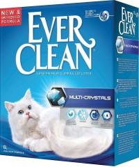 Ever Clean Multi Crystals наполнитель комкающийся максимальный контроль запаха с добавлением кристаллов силикагеля (синяя полоска)