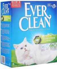 Ever Clean Extra Strength Scented наполнитель комкающийся нейтрализует самые сильные запахи (зеленая полоска)