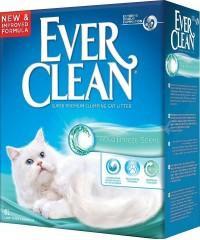 Ever Clean Aqua Breeze наполнитель комкующийся с ароматизатором Морской бриз