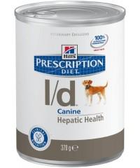 Hill's Диета консервы для собак L/D лечение заболеваний печени с Курицей 370 г