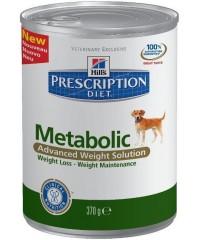 Hill's Диета консервы для собак Metabolic для коррекции веса с Курицей 370г.