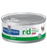 Консервы Hill's Диета для кошек R/D лечение ожирения 156 г. х 12 штук.