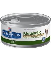 Консервы Hill's Диета для кошек Metabolic для коррекции веса 156 г. х 12 штук.