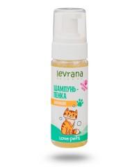 Levrana Love Pets Шампунь-пенка для кошек,150мл