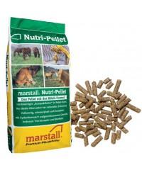 Мarstall NUTRI-PELLET / НУТРИ-ПЕЛЛЕТ безовсовый корм для лошадей в гранулах 25 кг.