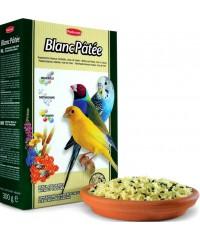 Корм Padovan BlancPatee дополнительный для декоративных птиц мягкий при линьке Мед 300г