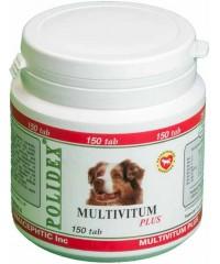 Полидекс  Multivitum plus поливитаминно-минеральный комплекс 150таб