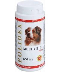 Полидекс  Multivitum plus поливитаминно-минеральный комплекс 500таб