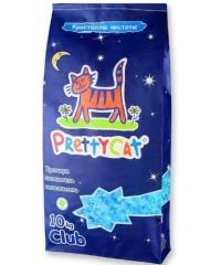 """Pretty Cat """"Кристаллы чистоты"""" силикагелевый наполнитель"""