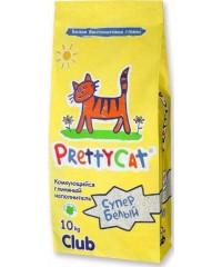 """Pretty Cat """"Супер белый"""" наполнитель комкующийся"""