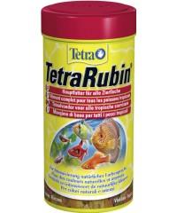 Тетра TetraRubin Корм д/усиления естественной окраски рыб, хлопья