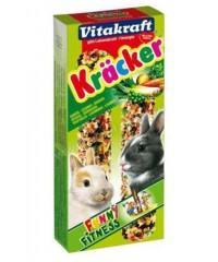 Vitakraft Крекеры для кроликов Овощные 2шт