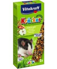 Vitakraft Крекеры для крыс Кукуруза/Фрукты 2шт